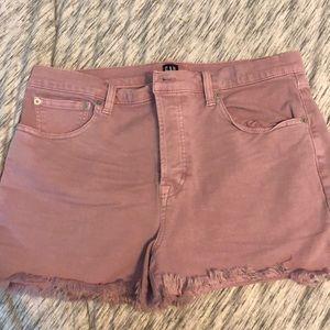 GAP Shorts - Gap fringe shorts